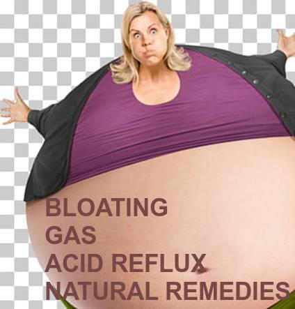 BLOATING GAS ACID REFLUX 10 NATURAL REMEDIES