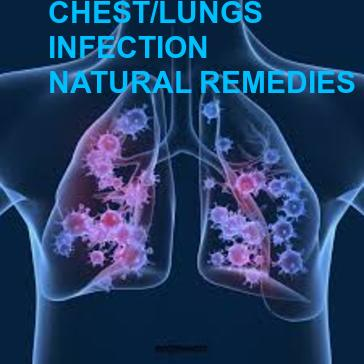 LUNGS INFECTION. 10 BEST NATURAL REMEDIES